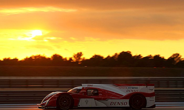 Toyota said the tests were successful, though some issues arose. (toyotahybridracing.com)