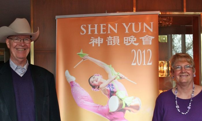 Troy D. Zeigler attends Shen Yun Performing Arts in Washington. (Lisa Fan/The Epoch Times)