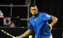 Tsonga Leads France Past Canada in Davis Cup