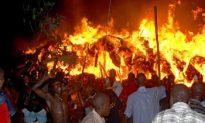 Uganda Guards Kill Three Amid Sacred Tomb Fire