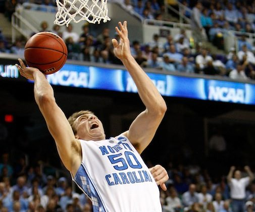 Tyler Hansbrough averaged 20.7 points and 8.1 rebounds in North Carolina's 2009 title-winning season. (Streeter Lecka/Getty Images)