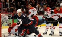 Olympic Hockey Scores Big With Americans