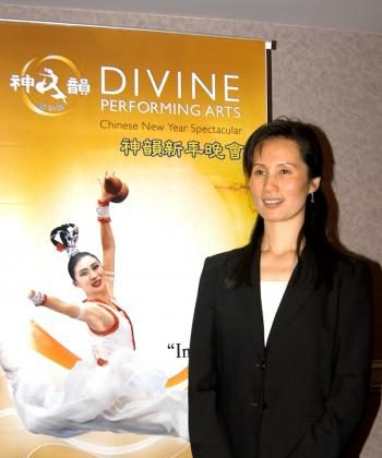 Vina Lee, choreographer and lead dancer for the Divine Performing Arts, recently visited the San Francisco Bay Area to promote the upcoming Chinese New Year Spectacular. (Steve Ispas/The Epoch Times)