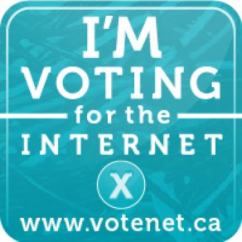 Candidates Urged to 'Vote for the Internet'