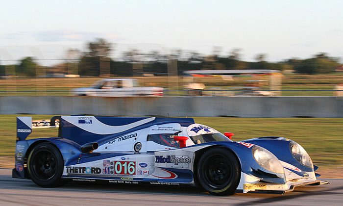 Dyson Racing will not be bringing its Lola-Mazdas to Le Mans for the 24-hour race this year. (James Fish/The Epoch Times)