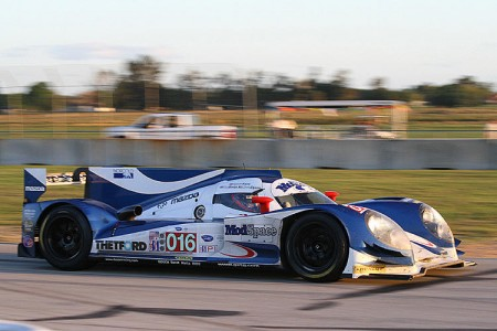 2011 ALMSD champs Dyson Racing debuted its 2012 Lola at Sebring. (James Fish/Epoch Times Staff)