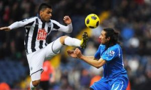 West Bromwich Albion v Newcastle United: Odemwingie Bags Brace