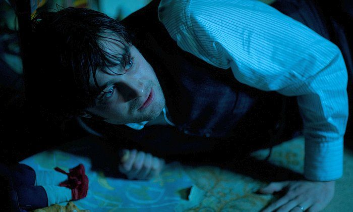 """Daniel Radcliffe in """"The Woman in Black,"""" as a young widowed lawyer who travels to a remote village and discovers a vengeful ghost that is terrorizing the locals. (CBS Films Inc.)"""