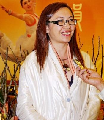 Lin Yijie, artistic director of International Youth Dance, judge of Italian Children's Choir Competition (Wang Chiayi/The Epoch Times)