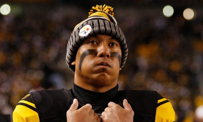 Hines Ward's nine starts and 381 receiving yards in 2011 were his lowest totals since his rookie year. (Jared Wickerham/Getty Images)