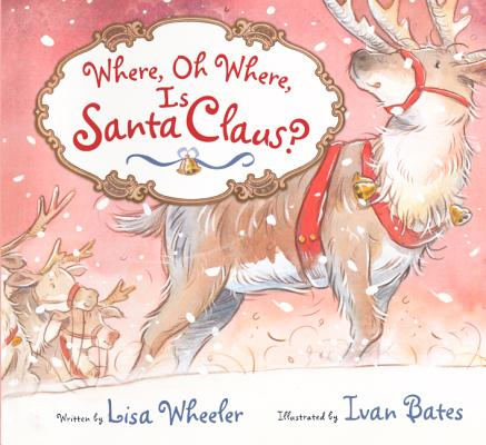 """Where, Oh Where, Is Santa Claus?"" (Courtesy of Harcourt Children's Books)"