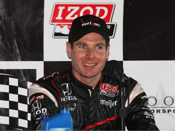 Penske's Will Power won the pole for the IndyCar Grand Prix of Alabama. (James Fish/The Epoch Times)