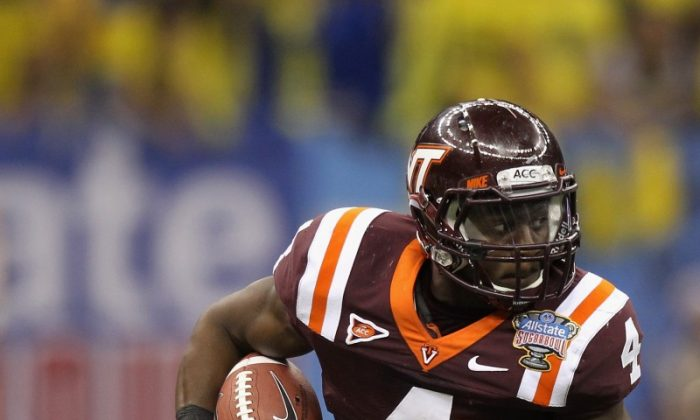 David Wilson led the ACC in rushing with 1,709 yards. MATTHEW STOCKMAN/GETTY IMAGES
