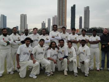 'David vs Goliath': Carnegie's Sri Lankans Cricket Club of Hong Kong thrashed JKN Little Sai Wan and Pakistan Association, the top two teams in the premier Sunday League, last weekend.