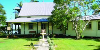 Wynyabbie House on the Clarence River.(Courtesy of Wynyabbie House)