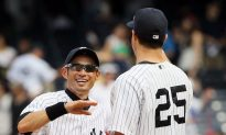 Ibanez Drives in Three in Yankees Win