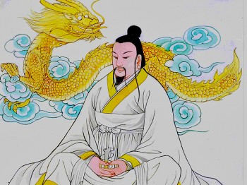 The Yellow Emperor. Illustrated by Blue Hsiao, Epoch Times Staff.