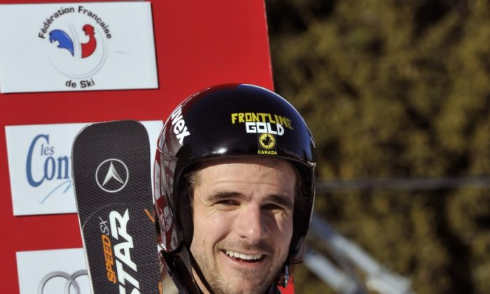 It was confirmed that Canadian skier Nik Zoricic died last Saturday after suffering severe head injuries after a fall in Grindelwald, Switzerland. (Francis Bompard/Agence Zoom/Getty Images)