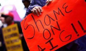 AIG Plummets Further Despite Bailout