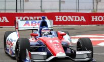 Sato Tops Final IndyCar Practice at St. Pete