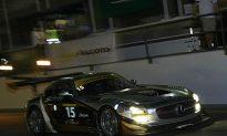 Mercedes in Control Halfway Through Dubai 24 Hours