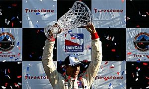 Wilson Takes First IndyCar Win at Detroit