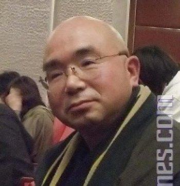 Abbot of a Japanese Buddhist temple, Furukawa Ryuji, profusely praised Shen Yun. (Liang Chaoren/The Epoch Times)