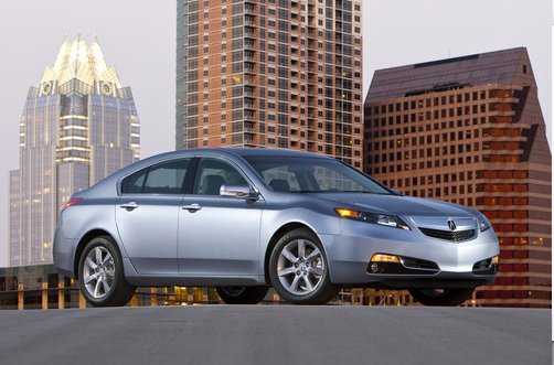 Honda Motor Co. Ltd.'s Acura announced on May 17 that it is voluntarily recalling 56,881 of its 2007 and 2008 TL sedans in North America. Pictured is a 2012 model of the Acura TL. (Honda Motor Co. Ltd.)
