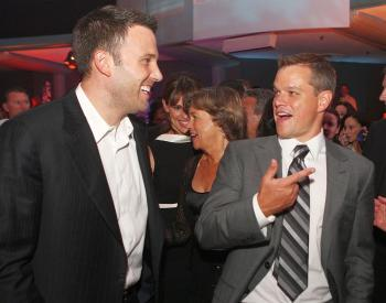 (L-R) Ben Affleck and Matt Damon. (Kevin Winter/Getty Images )