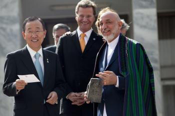 Afghan Conference Agrees on 2014 Handover Deadline