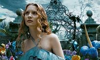 Burton's 3-D 'Alice' is Top Movie Three Weeks in a Row