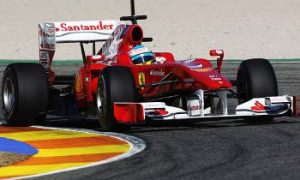 Ferrari Leads in Final Day of Formula One Testing at Valencia