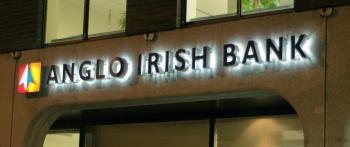 Anglo Irish Bank, Head Office on St. Stephens Green, Dublin. (Martin Murphy/The Epoch Times)