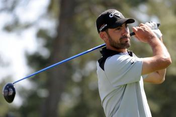 SPANIARD: Alvaro Quiros of Spain on the third hole of the first round of the Masters Tournament (Harry How/Getty Images)