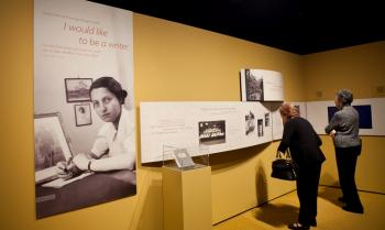An exhibit at the Jewish Heritage Museum on Wednesday (The Epoch Times)