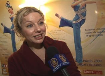 'My general impression is that it was very beautiful,' said art critic, Ms. Bogoskala. (NTDTV)