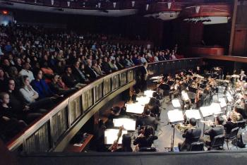 Audience watch the DPA performance in Atlanta on Dec. 19. (The Epoch Times)
