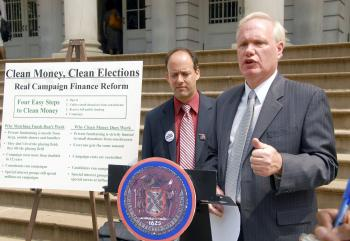 Mayoral candidate Council Member Tony Avella (D.Queens) (Seth Holehouse/The Epoch Times)