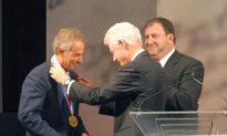 Former British Prime Minister Tony Blair Awarded 2010 Liberty Medal