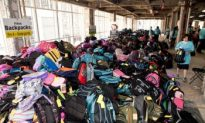 Disadvantaged Get New Backpacks as School Time Nears