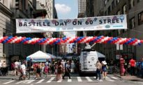 New Yorkers Celebrate Bastille Day
