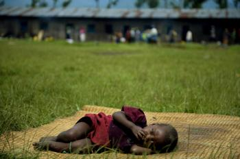 Poverty in Africa is often correlative to war (WALTER ASTRADA/AFP/Getty Images)