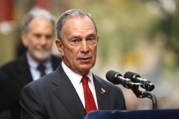 New York City Mayor Michael Bloomberg. (Neilson Barnard/Getty Images )