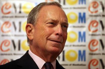 New York City Mayor Michael Bloomberg. (Spencer Platt/Getty Images)
