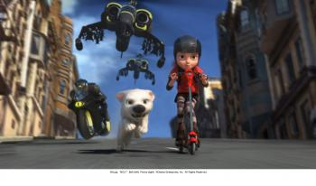 A scene from 'Bolt.' (Disney Studios)
