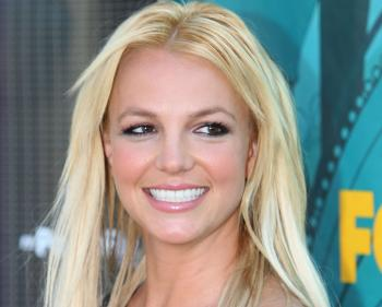 Britney Spears proved to be a ratings-booster on the Tuesday episode of 'Glee.' (Frazer Harrison/Getty Images)