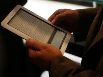 PUBIT!: Barnes & Noble gives self-published authors a convenient platform to get their content to consumers on a wide range of mobile devices. (Spencer Platt/Getty Images)