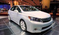 Toyota Recalls Lexus HS 250h Hybrid