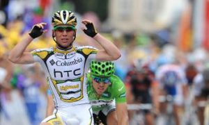 Cavendish Takes Third Stage Win in Tour de France