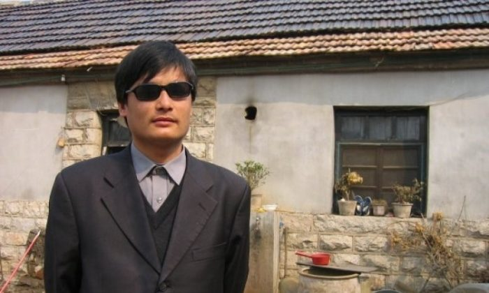 Chen Guangcheng. (The Epoch Times)